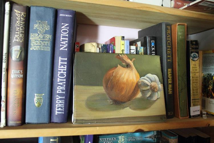 Garlic and Onion Still Life - Image 0
