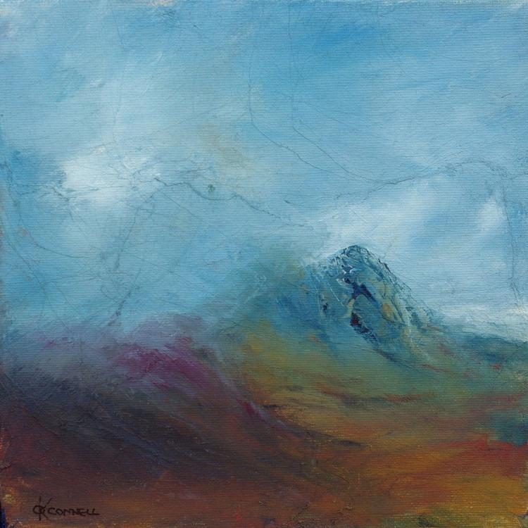 Sutherland heather moor Scottish mountain landscape - Image 0