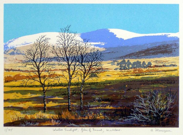 Winter Sunlight, Glen of Imaal - Image 0