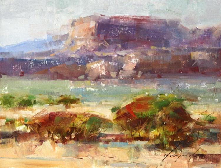 Grand Canyon Arizona Original painting on canvas Impressionism One of a kind - Image 0