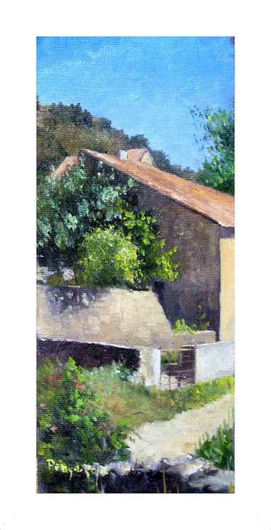 Detail of a farmhouse -