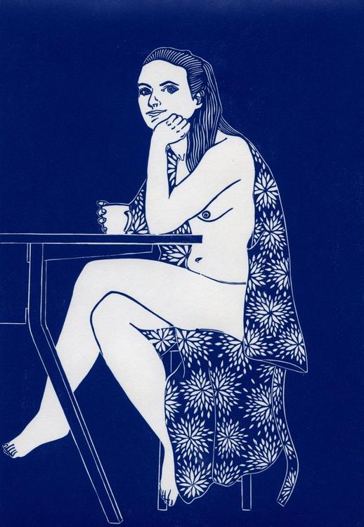 Blue Nude - Image 0