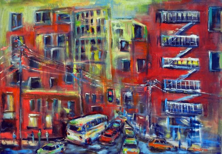Urban Spaces II 36x30 - Image 0