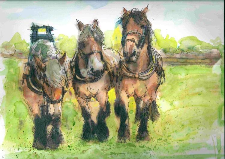 Three workhorses - Image 0