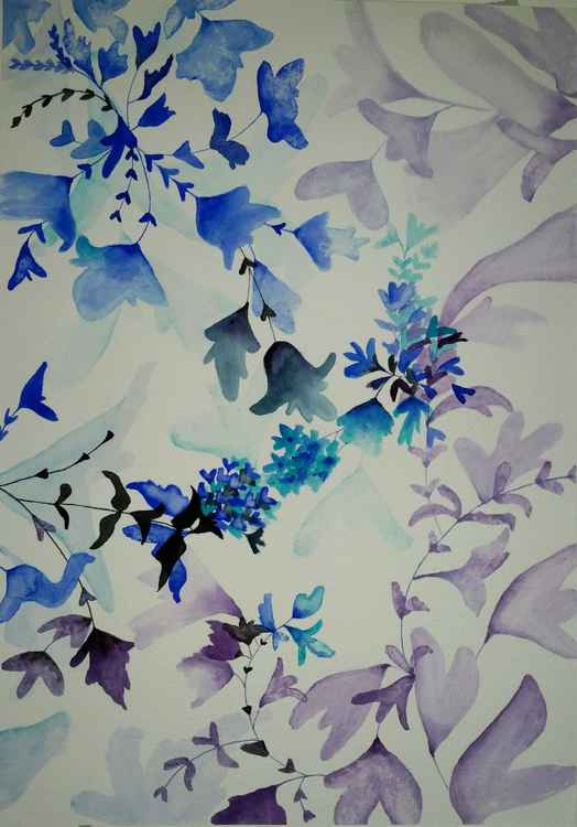 From my watercolour 'floral' series -