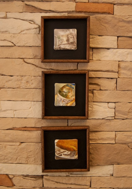 'Don't Breathe..., Don't Drink..., Don't Eat...'  (3pc triptych series) - Image 0