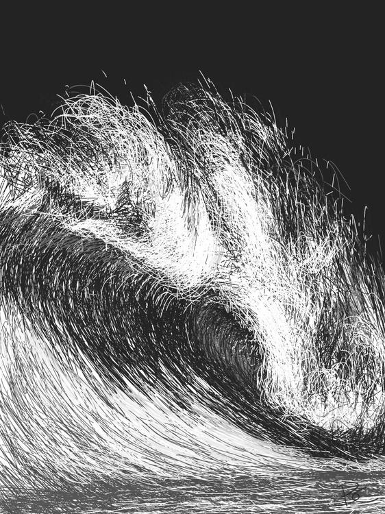 Wave 10 - Drawing - Image 0