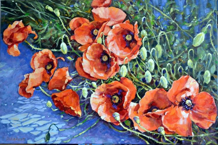 Poppies 2. Sale - Image 0