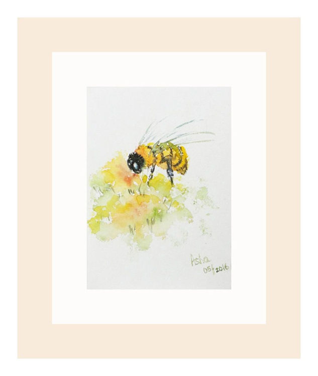 """To Bee or not to be -5""""x 7"""" - Image 0"""