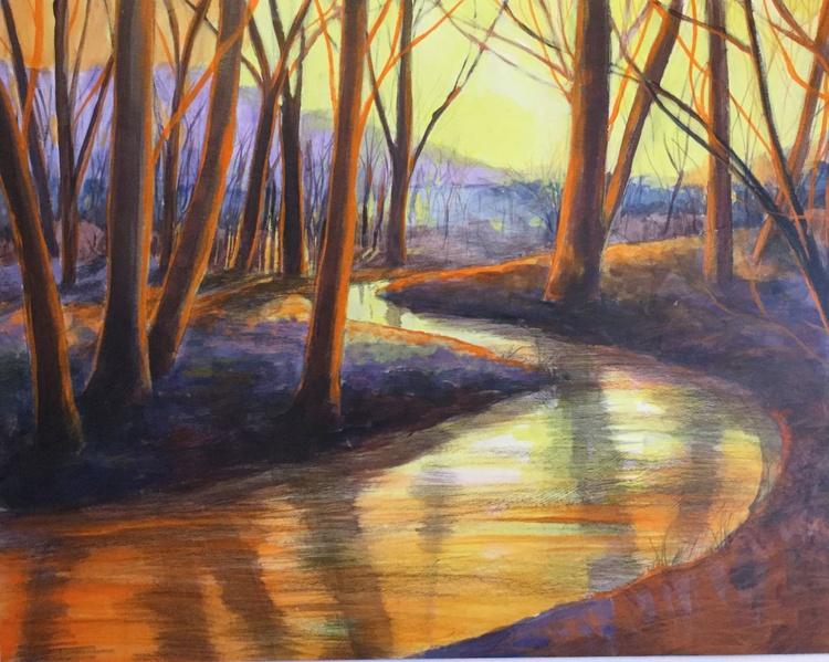 Sunset stream - Image 0