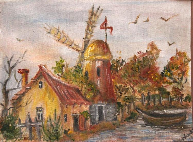 Old Holland landscape - Image 0