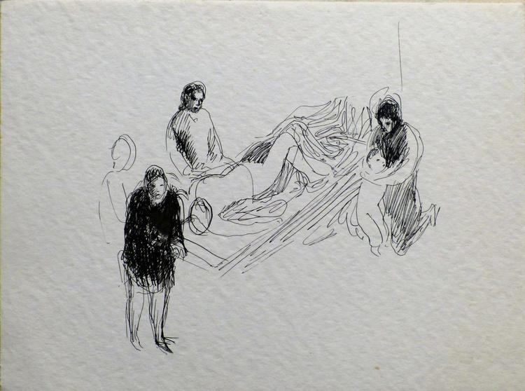 Hospital 2, 24x32 cm - Image 0