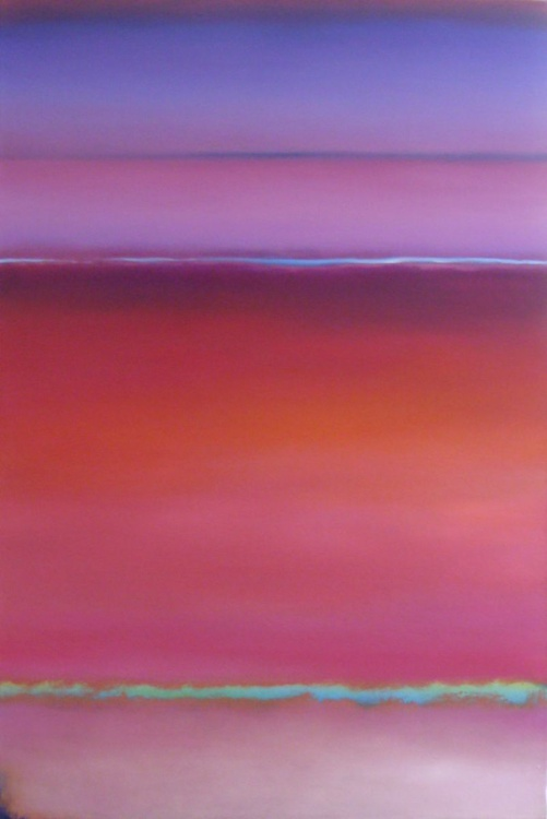 Colour Abstract Purple Pink Red - Image 0
