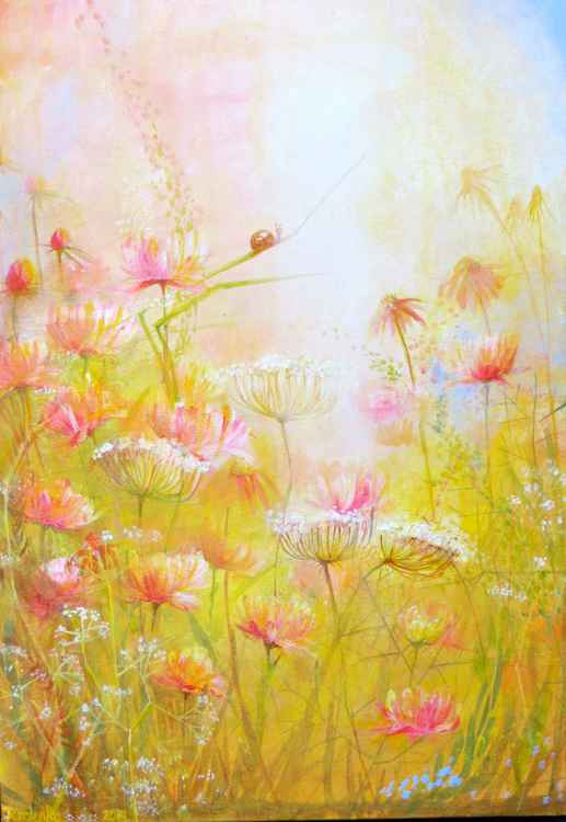 Summer Meadow, rose