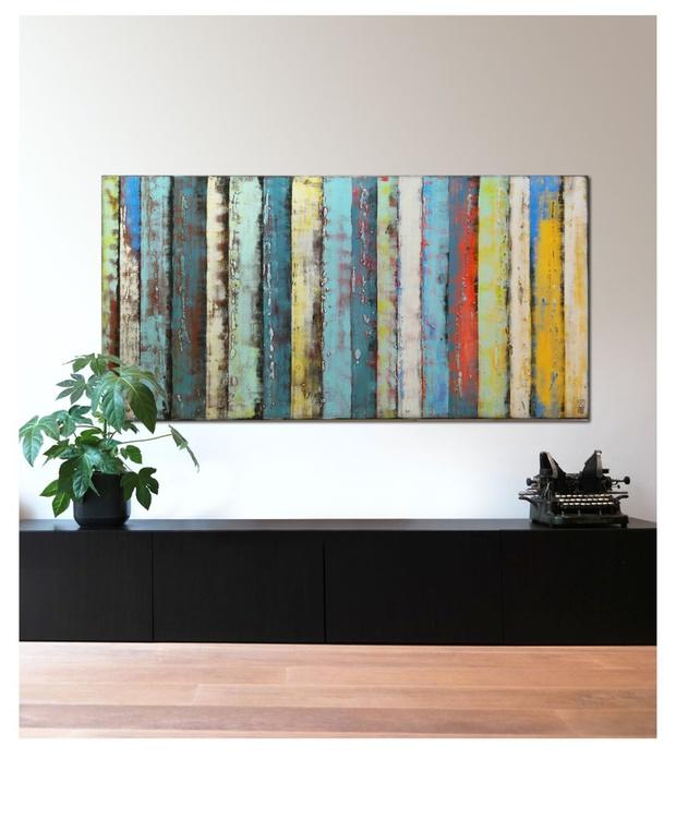 Supersized-artwork - Panels Multi Color XL - B35 - Image 0