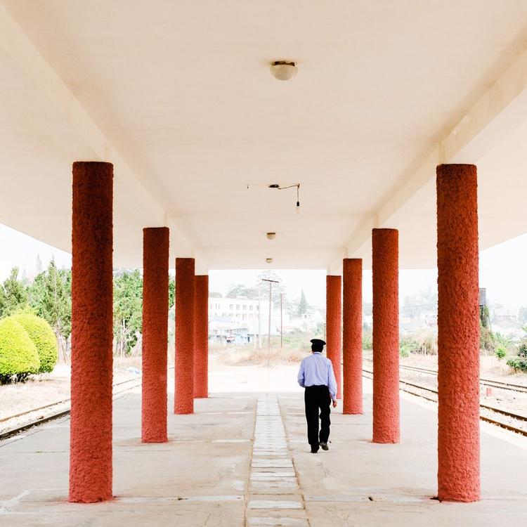 Da Lat Railway Station (40x40cm) - Image 0