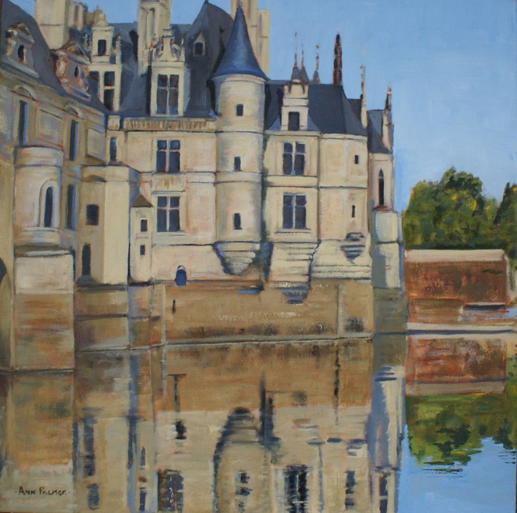 Chenonceau from the south bank - Image 0