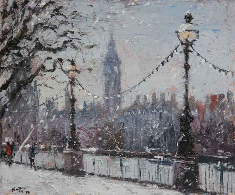 Winter time, Southbank London