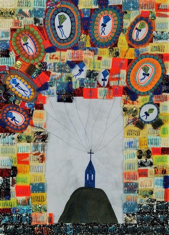 The Memory Kites, unusual landscape - Image 0