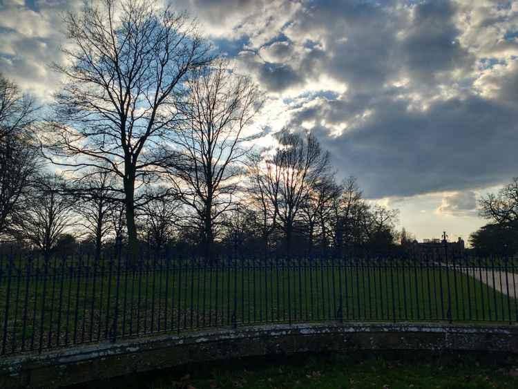 Charlecote Park (48cm × 35.7cm)