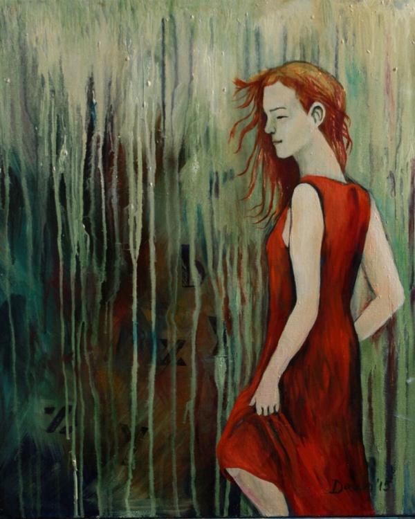 Girl in the Orange Dress - Image 0