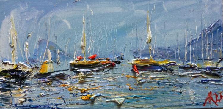Yachts, 20x40 cm - Image 0