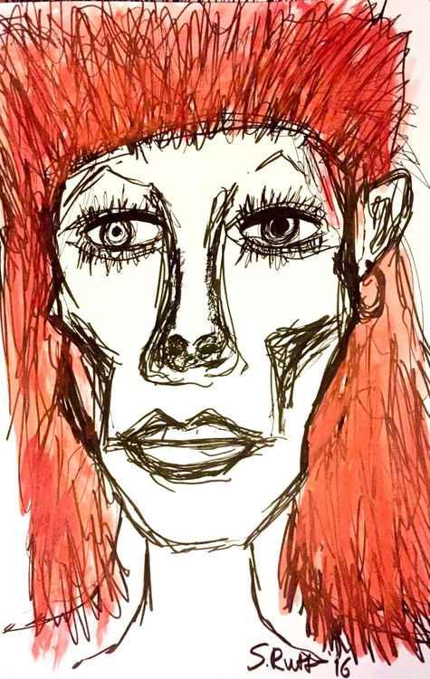 Bowie Sketch 1 -