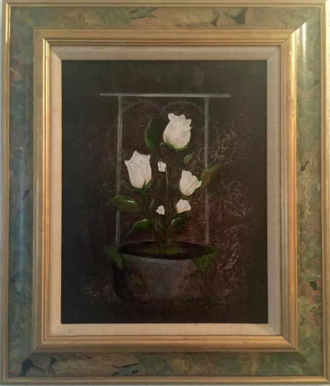 White Flowers #2 - Image 0