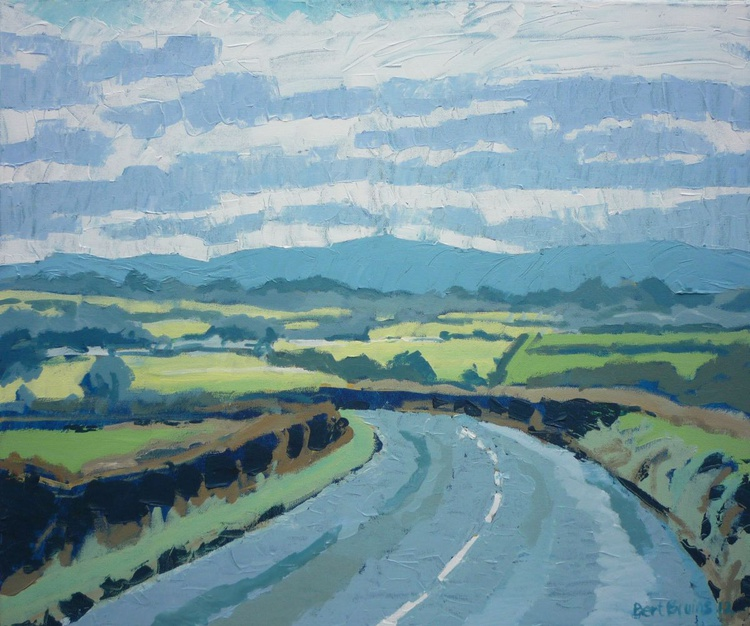 View of Dartmoor from Hatherleigh - Image 0
