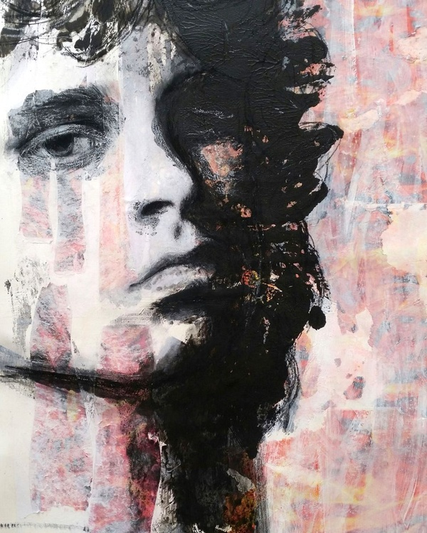 """BURN OUT"" / Jim Morrison - Image 0"