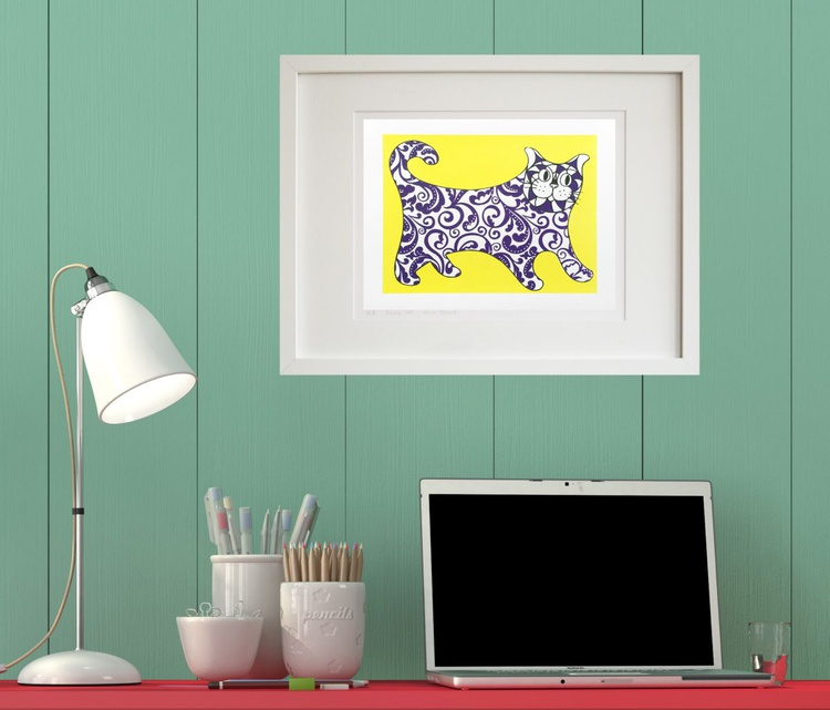 I am not a decorative object - Yellow - Unframed - Image 0