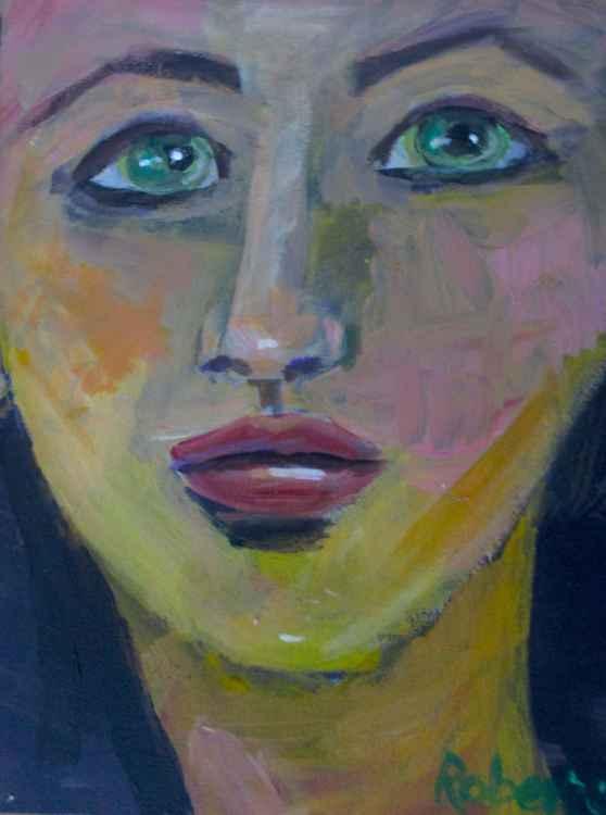 #107 Green eyes