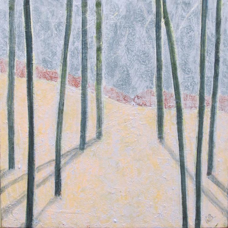 Tree Line 78 - Winter Glaze - Image 0