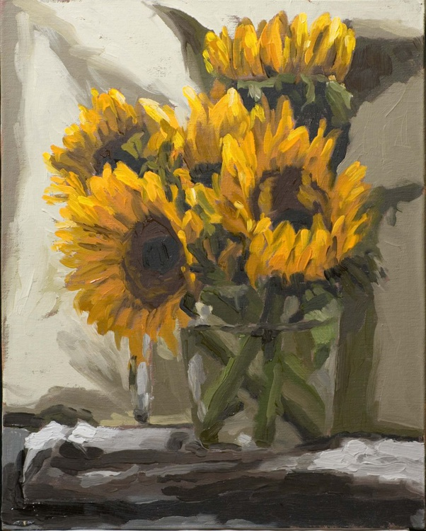 Sunflowers in a Jug - Image 0