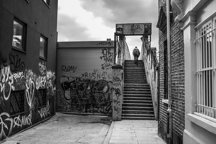 Walking up the Steps - Image 0