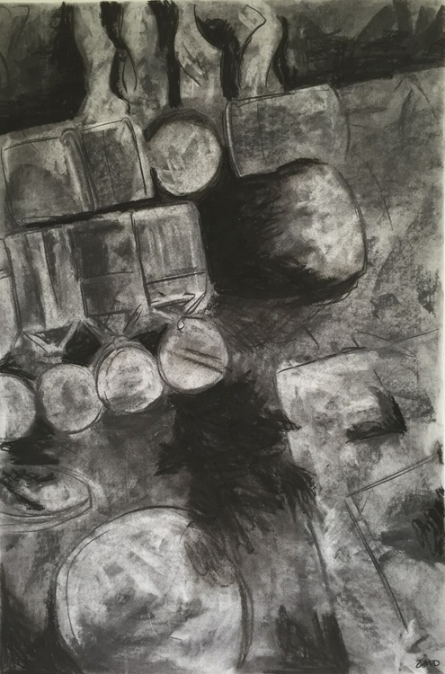 Still Life in Charcoal - Image 0