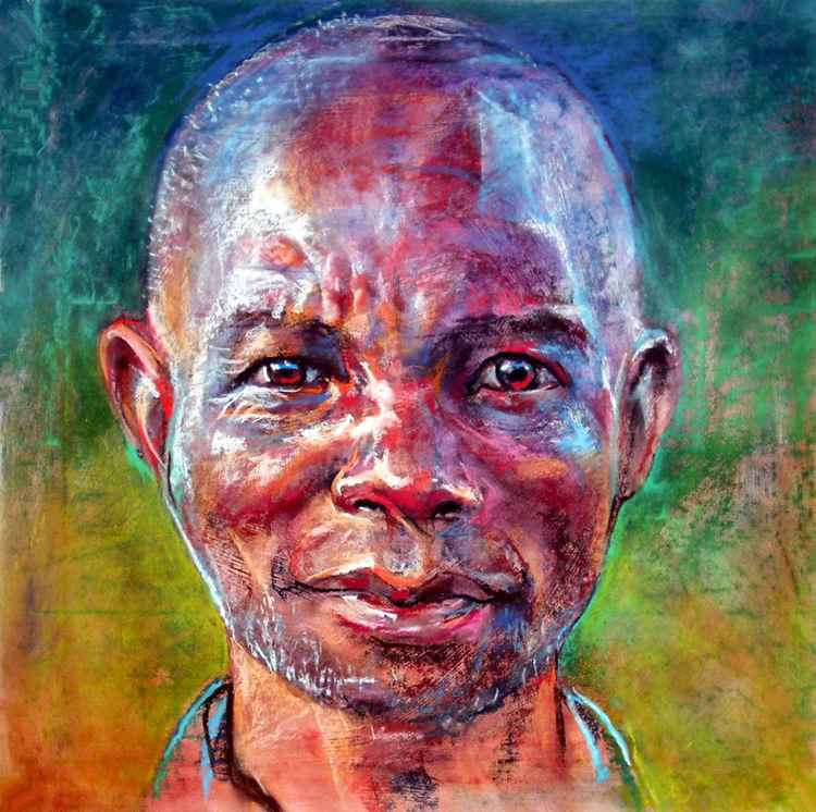 Portrait of a Black Man -