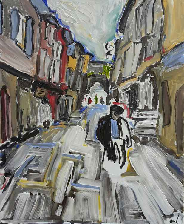 Street, Mirepoix -