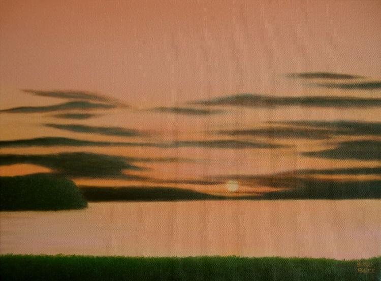 Sunset at the Lake II - Image 0