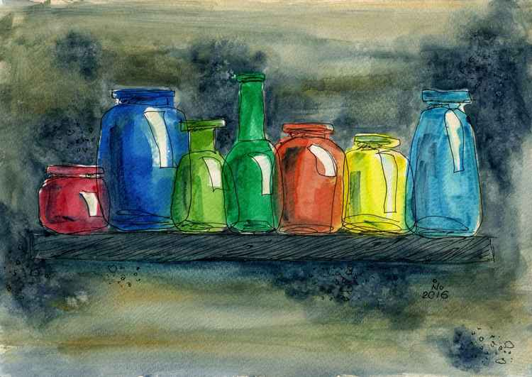 Glass jars2 -