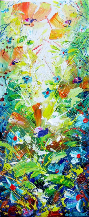"Paintings of flowers - ""Sunshine"" - Image 0"