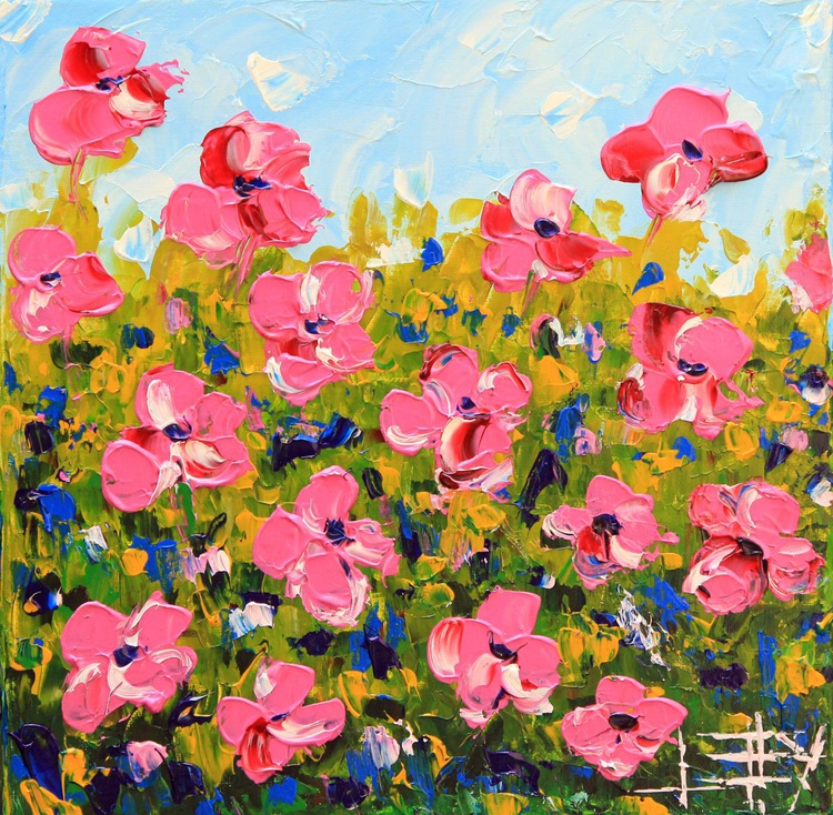 Proudly Pink Poppies - Image 0