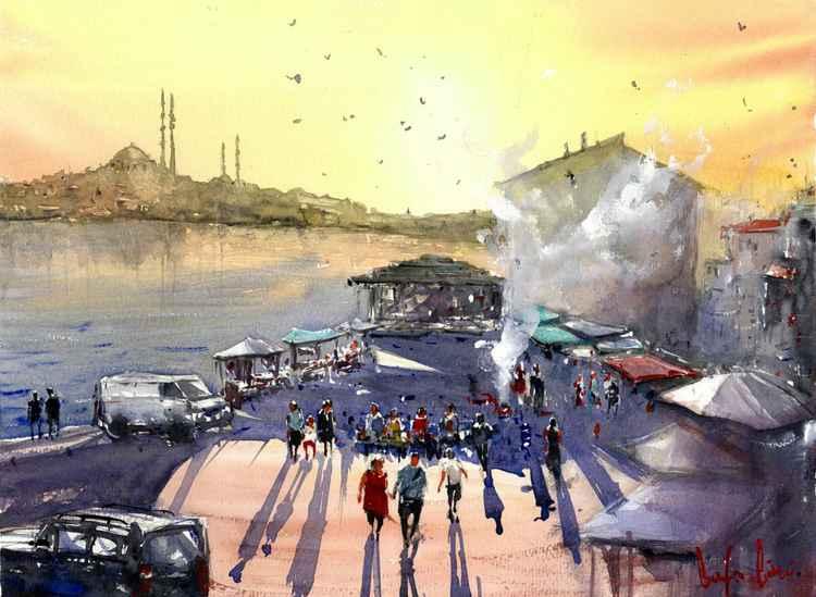 Fish market, Istanbul -