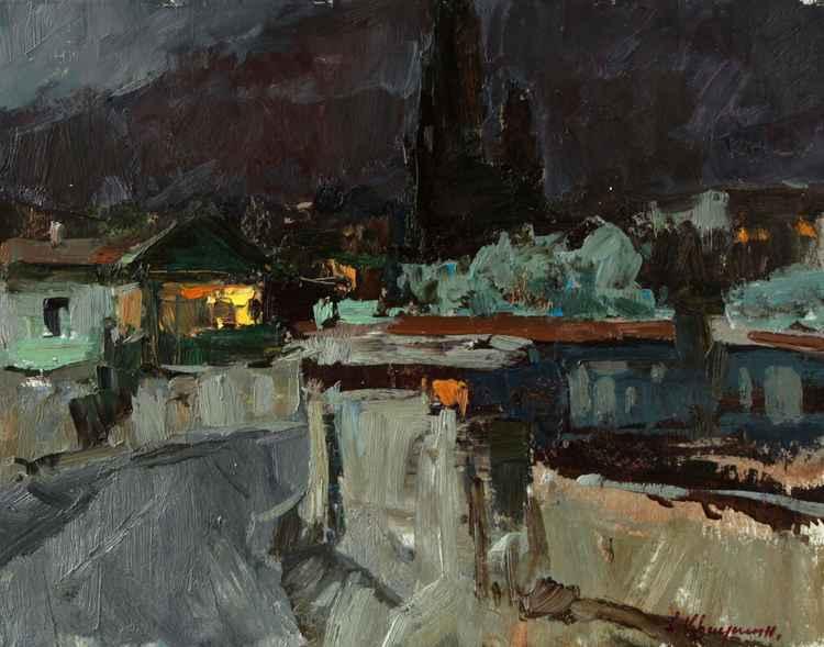 Evening in Yalta