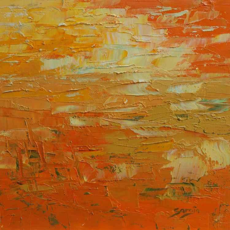 Orange landscape (ref#:1256-19Q)