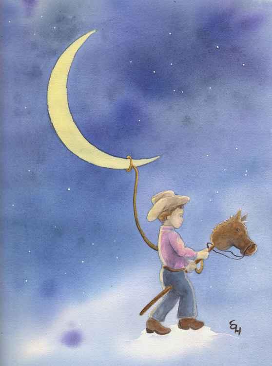 Boy Lassos Moon