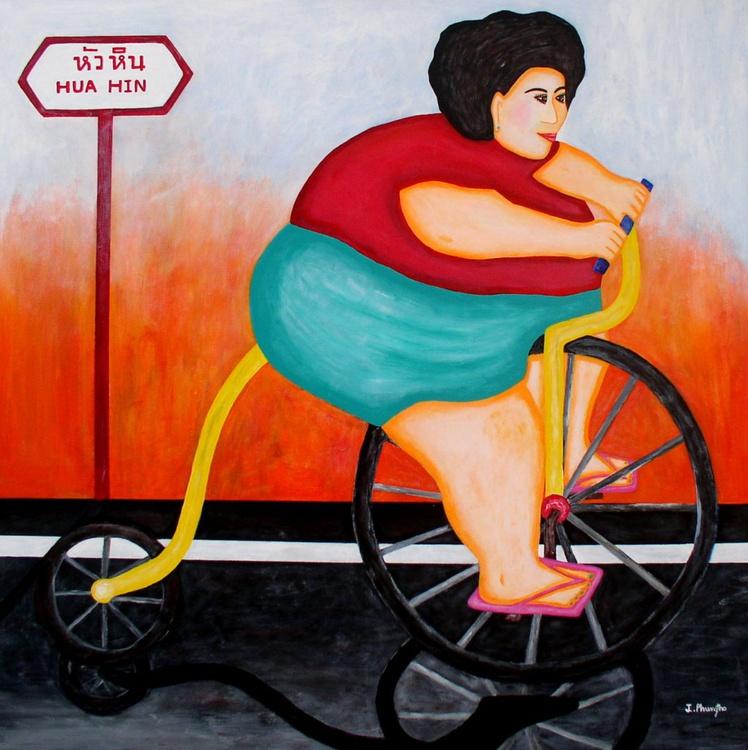 Big Cycle Lady - Image 0