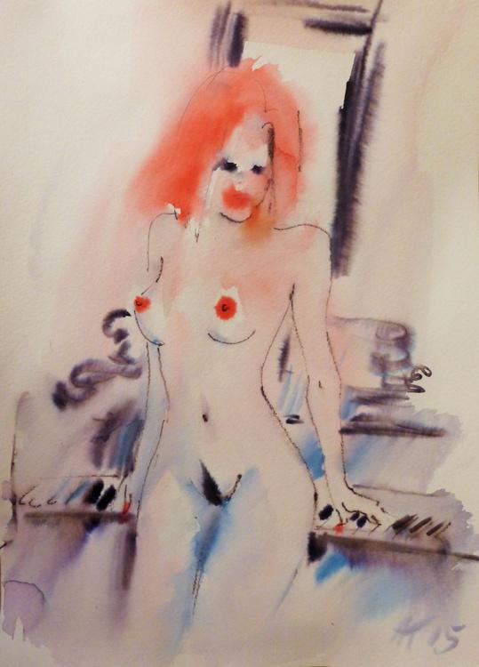 naked at the piano - Image 0