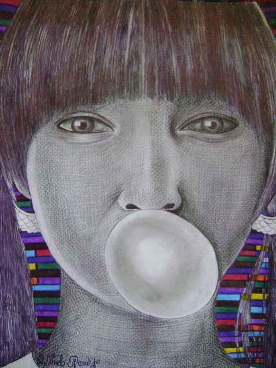 Bubble Gum burst -