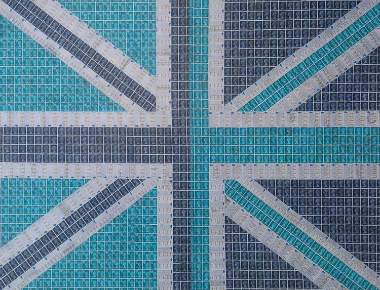 Blue Union Jack - Image 0